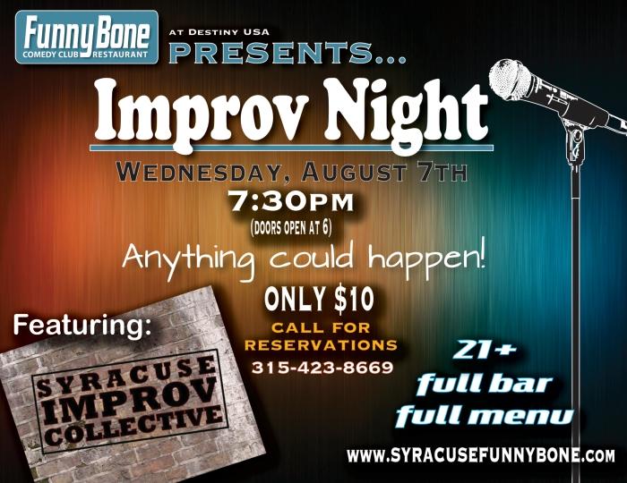 Improv Night August 7