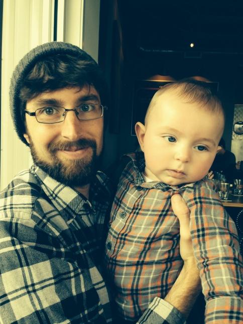 Joe and Baby Z