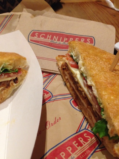 Crispy Chicken Sandwich, Shnipper's Quality Kitchen