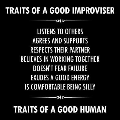 Traits of a Good Improviser